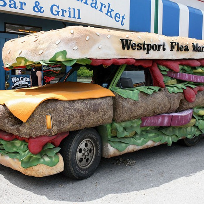 Cheeseburger Truck is The Tastiest Looking Vehicle on Streets