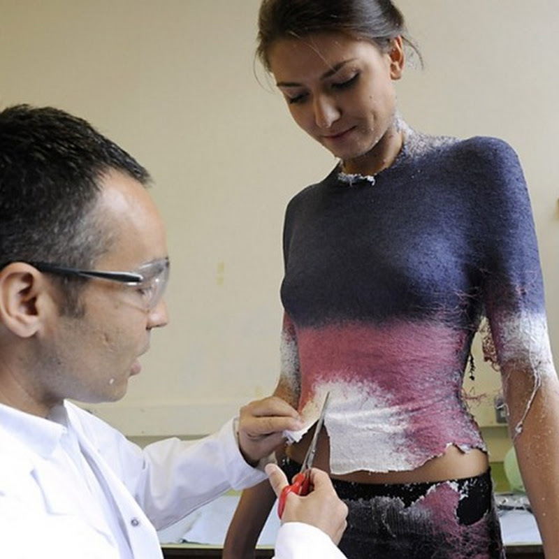Designers Create World's First Spray On Cloth
