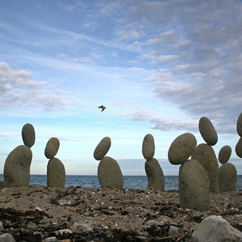The Impossible Stone Balancing Art of Adrian Gray