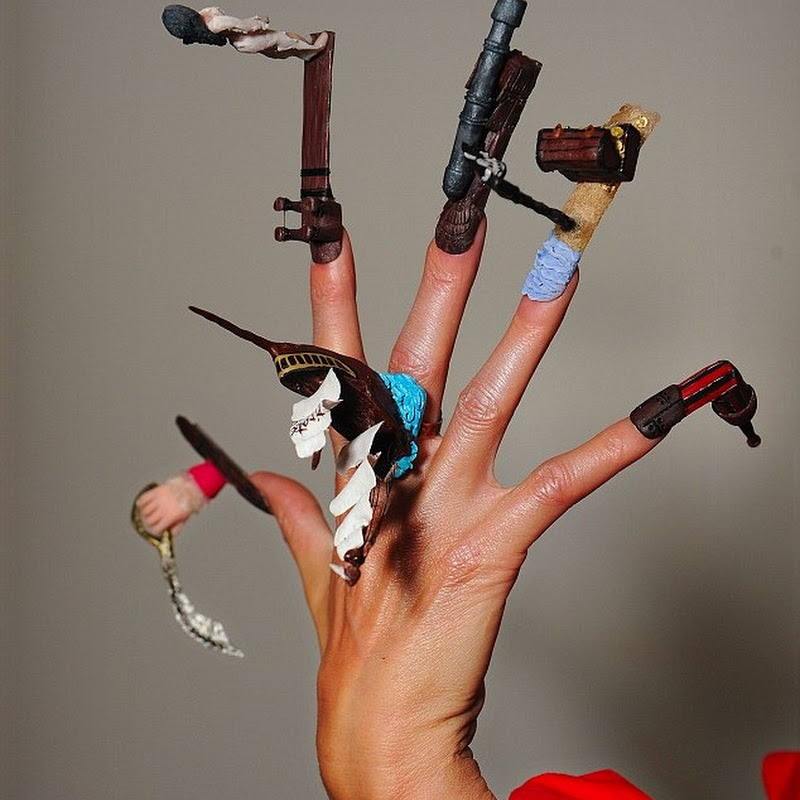 Nailympics 2010: The Bizarre Fake Nail Olympics