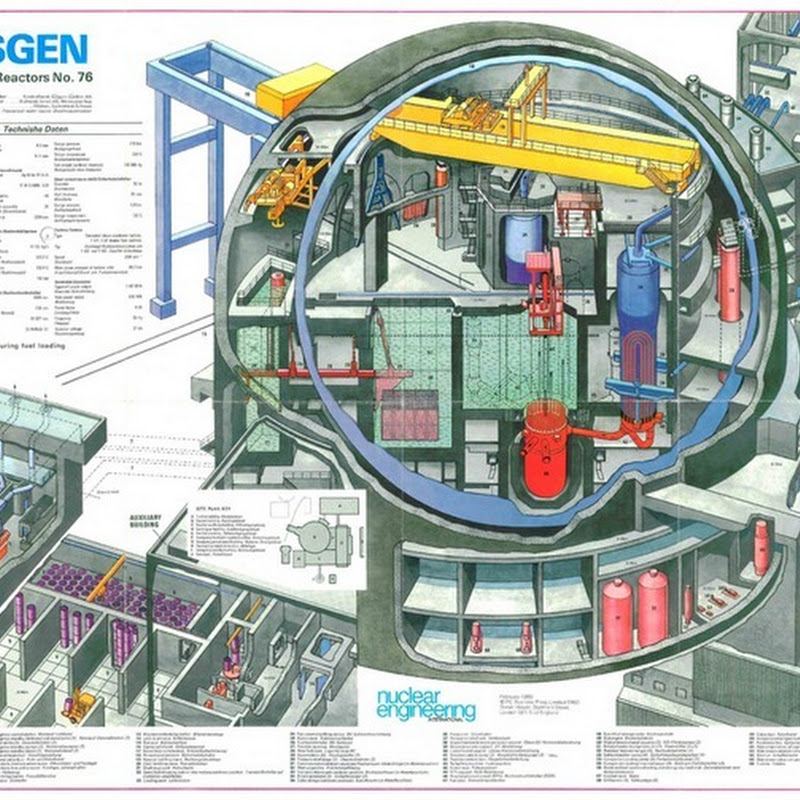 Nuclear Reactor Cutaways