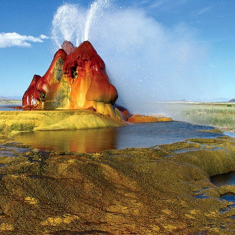Fly Geyser: A Man Made Geyser in Nevada