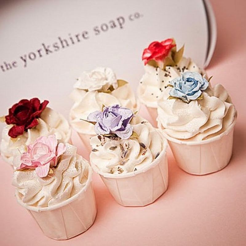 Cake Shaped Soaps From Yorkshire Soap Co.