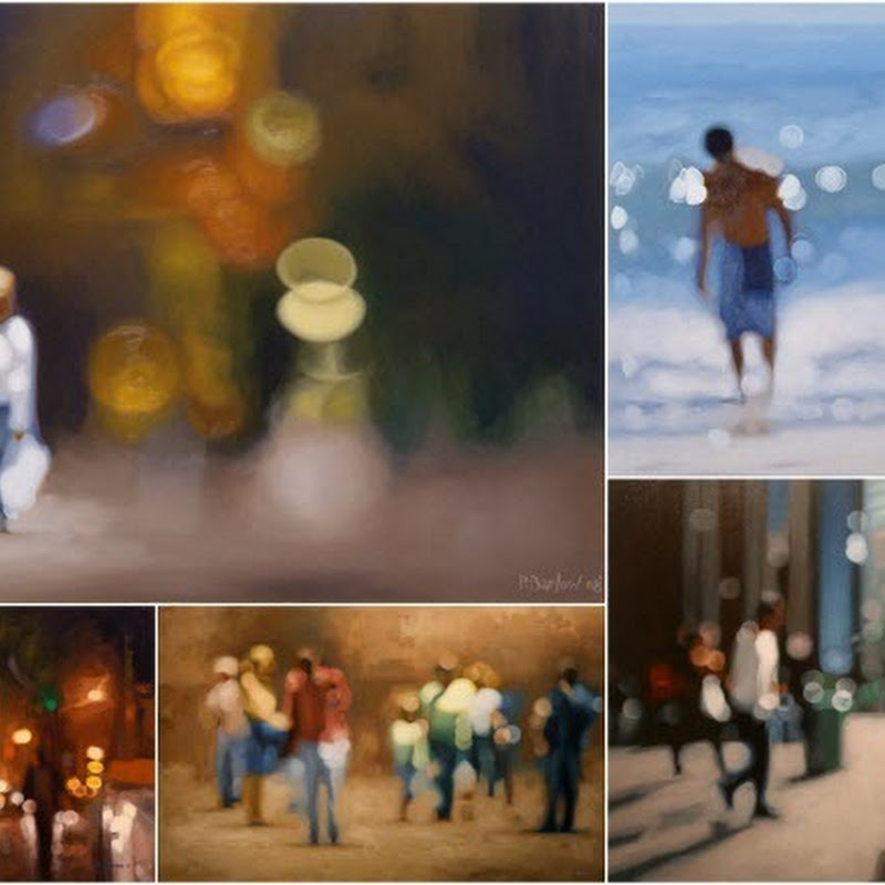Soft Focus Oil Paintings by Philip Barlow