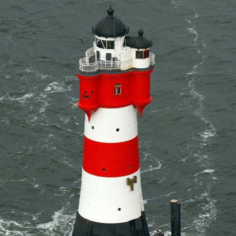 Roter Sand Lighthouse Turned Hotel in Germany