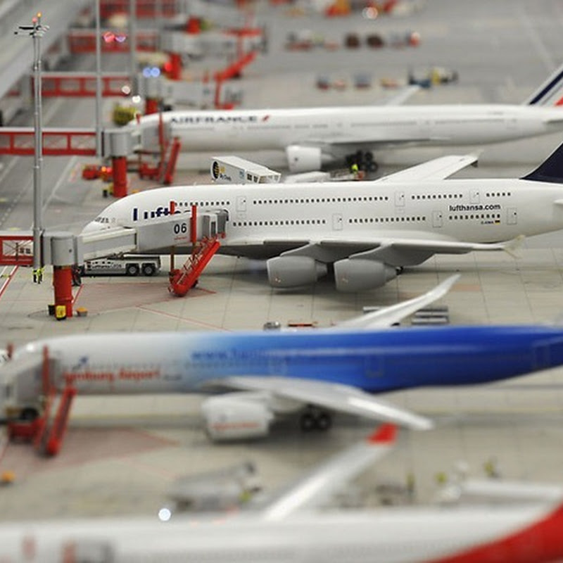 World's Largest Miniature Airport Opens in Germany
