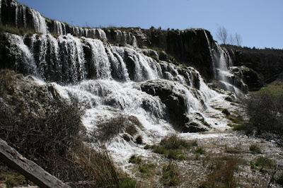 Cascadas de la Balsa en primavera 2010