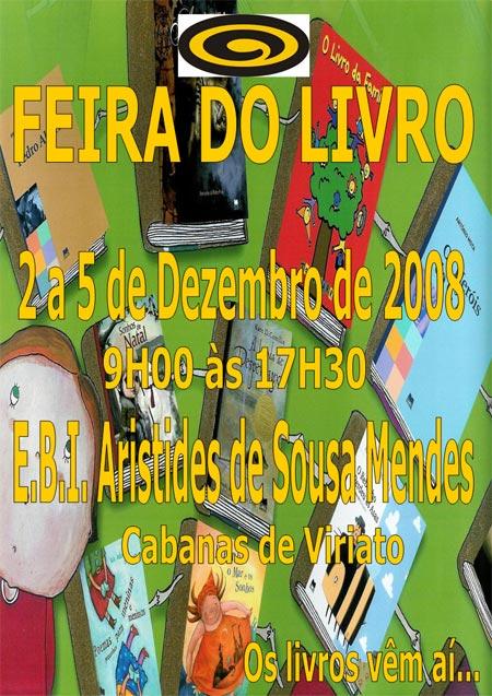 Feira do Livro, EBI de Cabanas, 2 a 5 de Dezembro