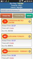 Screenshot of IstanBus: Istanbul Bus Tracker