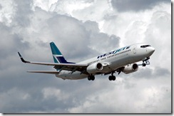 WestJet airplane, from Caribb on Flickr