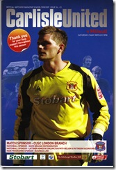 Carlisle vs Mill prog
