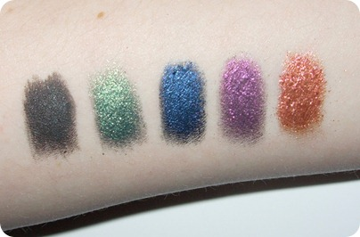 Sleek eye dusts SWATCH