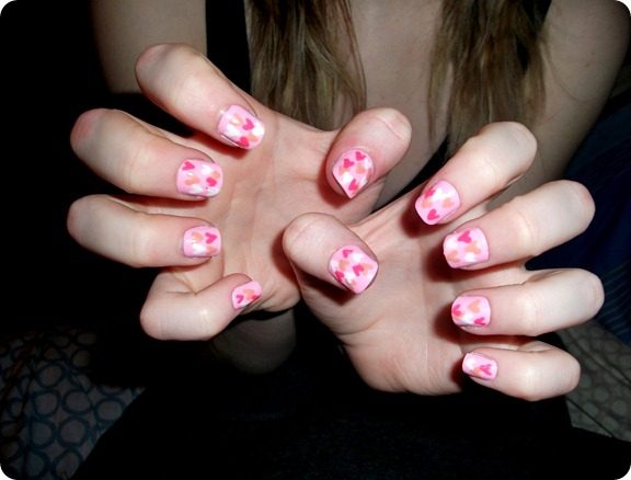 HEART NAILS 2