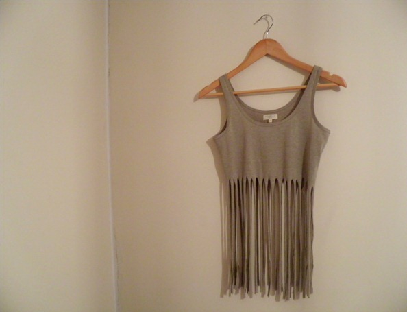 FRINGED TOP DIY 4