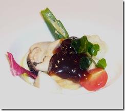 ムール貝とカリフラワーんのムース