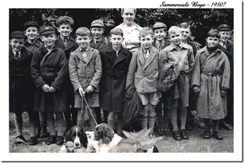 Summervale boys 1950