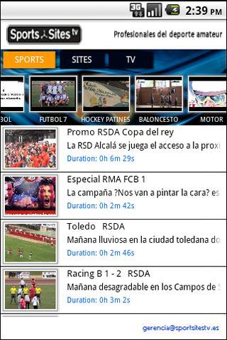 Sports Sites TV