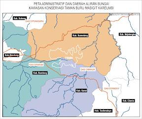 Peta Administrasi Wilayah dan Area TBMK