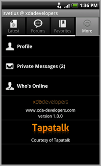 XDA-Developers Android