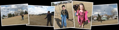 View Easter kite flying