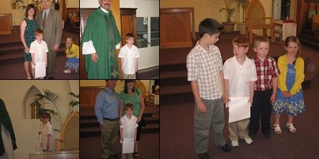 View Matthew's First Communion