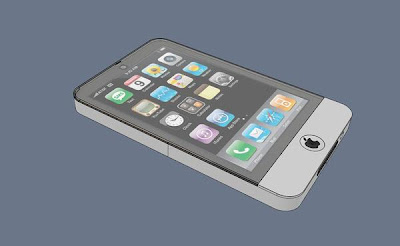 iPhone 4G Concept Design by Gillaume Moshi Guyader
