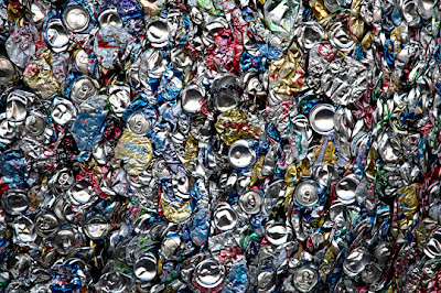 beverage cans for recycling
