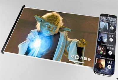 Mobile Script concept phone