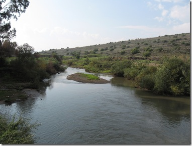 River North of Sea Of Galilee 2