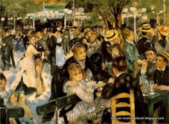 Bal du Moulin de la Galette par Pierre-Auguste Renoir