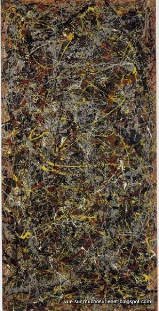 N ° 5, 1948 par Jackson Pollock