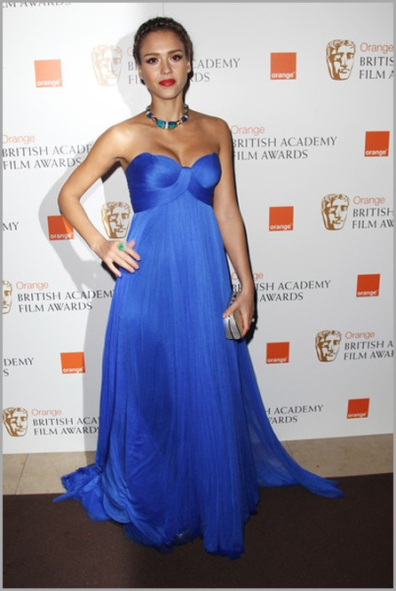 jessica alba, world hot actress, Orange British Academy Film Awards 2011, sexy jessica alba