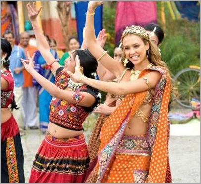 sexy jessica alba, jesica alba, jessica in indian dress