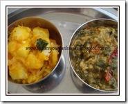 PJ's Keerai sambhar