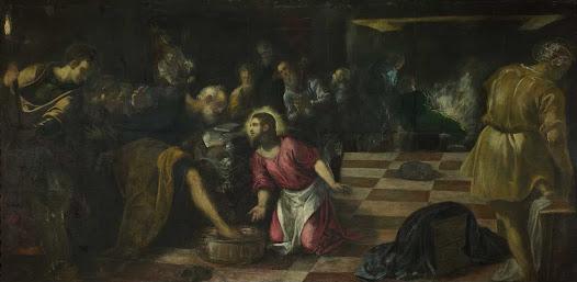 Tintoretto, Lavanda dei piedi