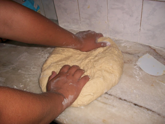 receta pan dulce