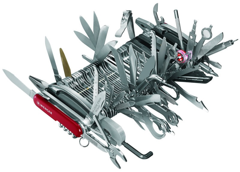 The Swiss Army Knife King Big Brand Image   According to Jim