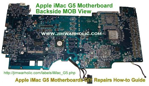 apple imac g5 motherboards diy repairs bad caps fix how to guide rh jimwarholic com iMac G3 iMac G7