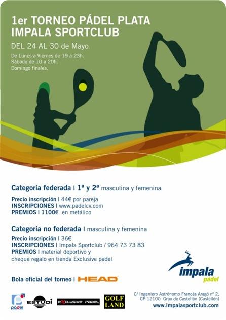 Torneo Pádel Plata Impala Club Castellón 2010