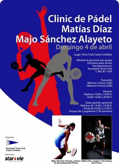 Clinic Padel Matias Diaz 4 abril de 2010