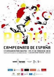 Campeonato España de Primera Por Equipos 2010_Cartel