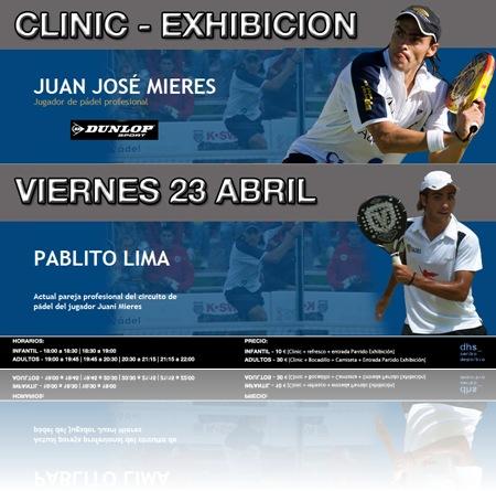 Clinic Exhibición Mieres Lima CD La Dehesa 23 Abril 2010