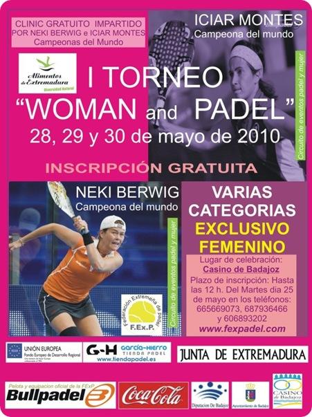 Torneo Padel Women Tour Mayo 2010
