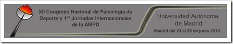Congreso Nacional Psicologia Deporte UAM Junio de 2010