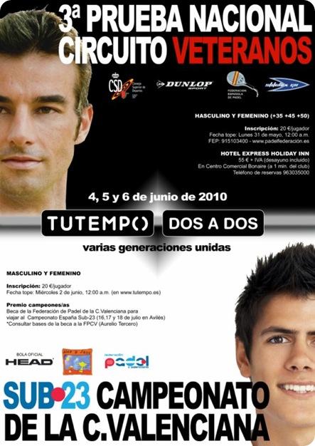 Campeonato Veterano y Sub 23 en el Club Tutempo 2 a 2