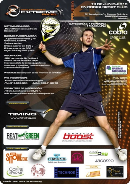 Circuito Extreme Padel TIMING Cobra Sport Club