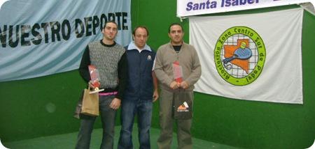 Martin Diab Ariel Zanni y David Galante en La Pampa