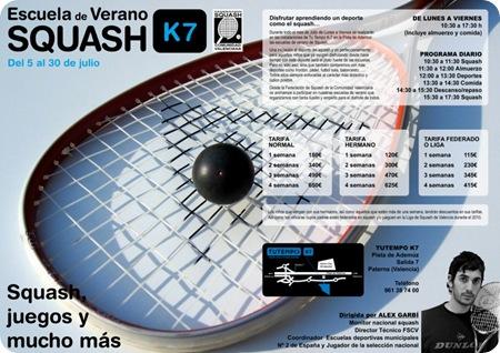 Campus Verano Squash Club Tu Tempo Valencia 2010