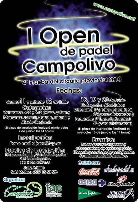Open de Padel CampoOlivo 2010