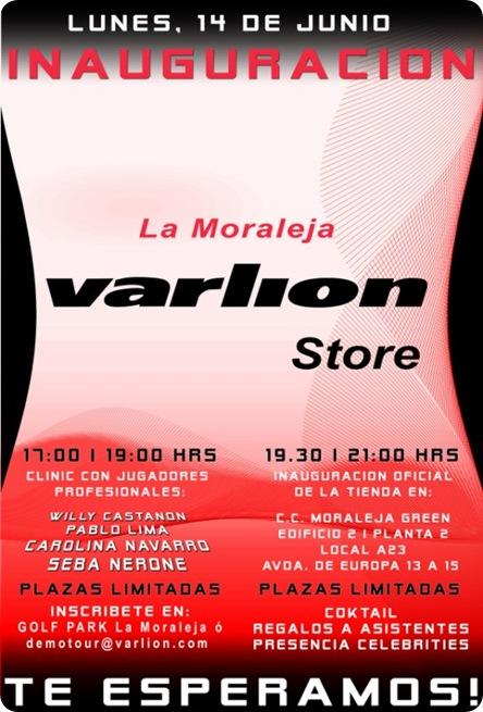 Inauguración VARLION STORE La Moraleja Junio 2010